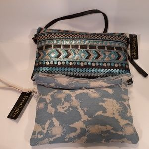 FreeChoice by ELIS. Lot of two clutch purses.